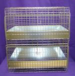 "24""X18""X26"" Cavy Condo 2 hole/Metal Tray"